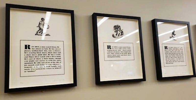 """Courtesy of Kanak Gupta  """"Runways"""" is currently on display on M-Level in MSE Library."""