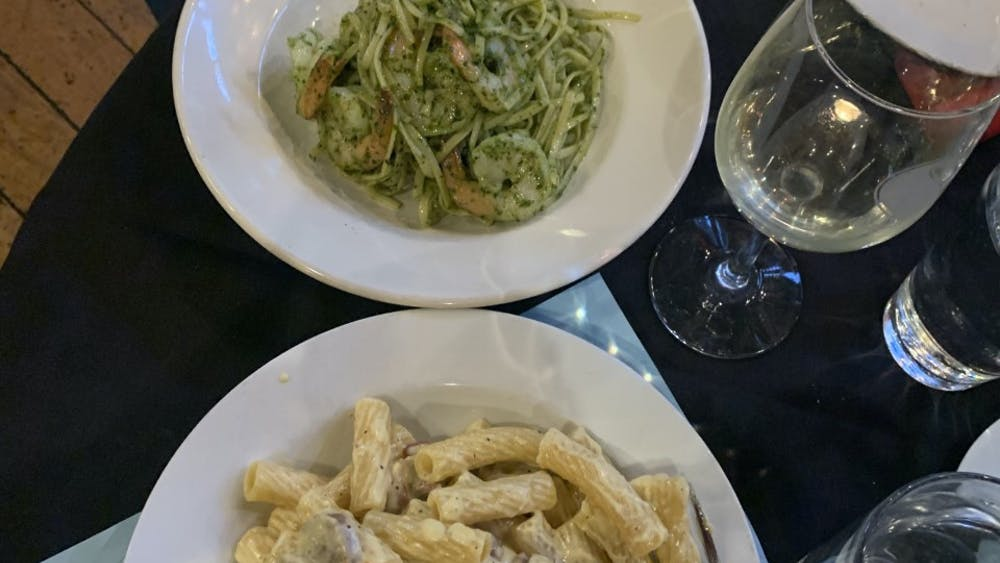 COURTESY OF EUNICE PARK Sammy's Trattoria offers a wide range of delicious pasta for all Italian lovers.