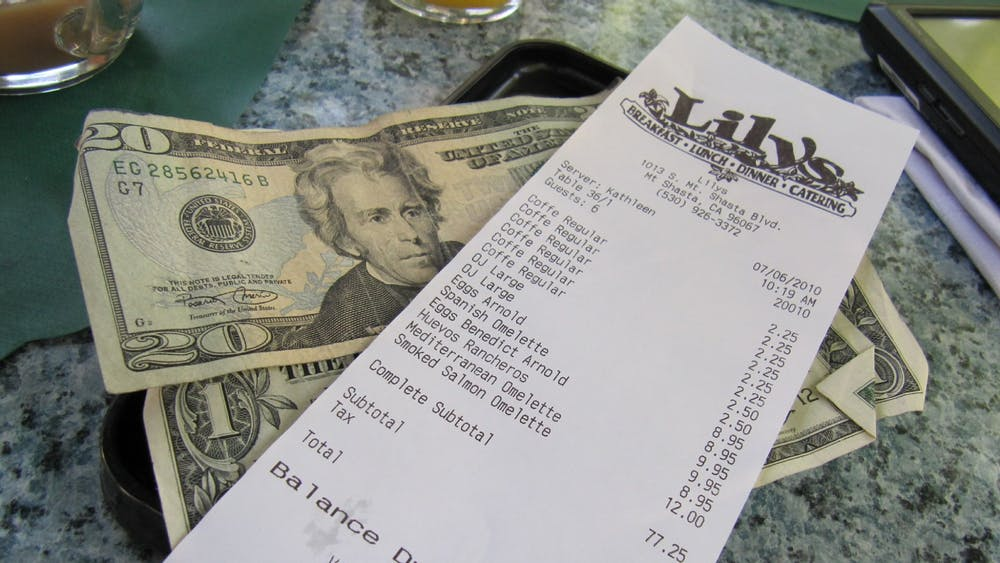 IWONA KELLIE / CC BY 2.0 Jiang argues that the U.S. tipping system exacerbates racial inequality.