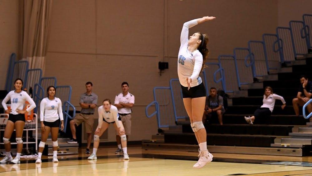 HOPKINSSPORTS.COM Junior Louisa Kishton was named Conference Player of the Week.