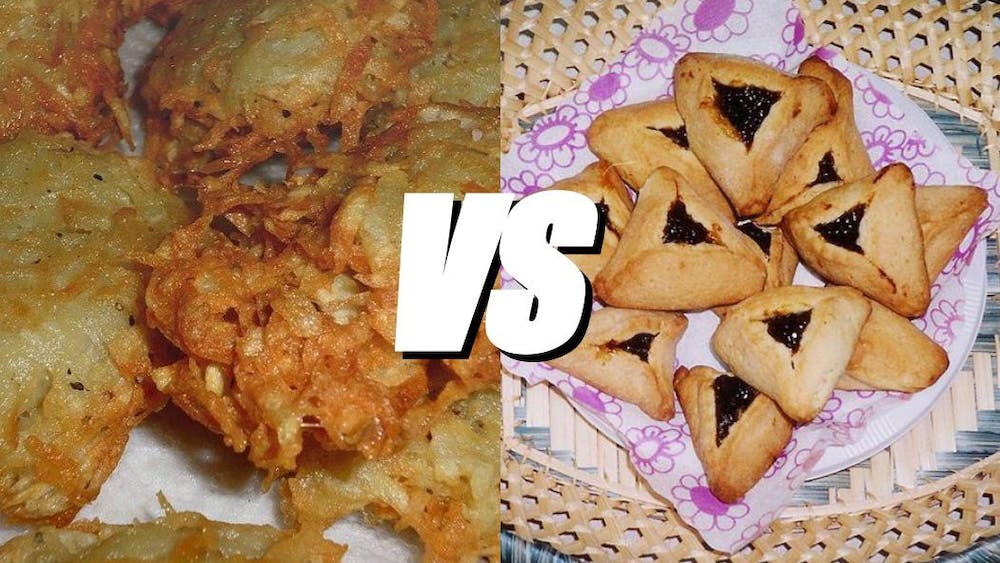 PUBLIC DOMAIN / edited by Claire Goudreau Professors debated whether latkes or hamantaschen were better.
