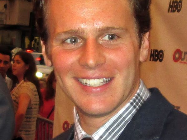 GREG HERNANDEZ/CC-BY-2.0 36 Questions — The Podcast Musical stars Jonathan Groff and Jessie Shelton.
