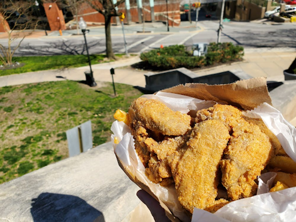 COURTESY OF JESSE WU Hip Hop Fish and Chicken provides one of Baltimore's iconic staples.