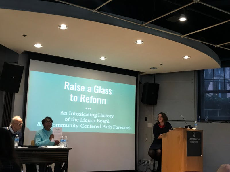 Witt argued that Baltimore's liquor laws ignore public health concerns.