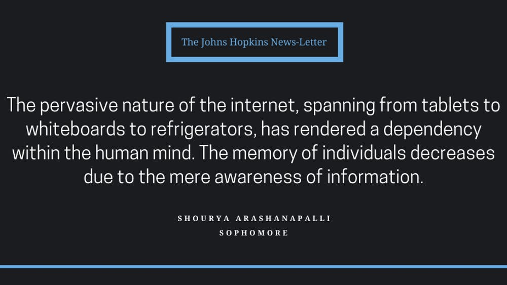 Arashanapalli investigates how the expansion of technology has impacted our education system and the psyches of students.