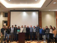 COURTESY OF LIOR NAVON The Hopkins American Student Partnership for Israel invited Benjamin Anthony to campus.