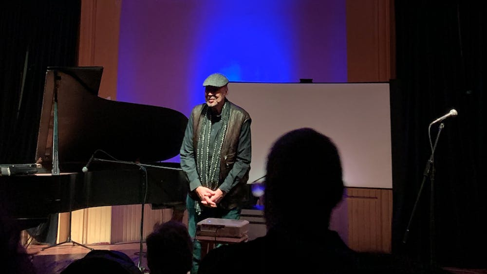 COURTESY OF KATY OH Dave Burrell opened with an incredible sequence of his original pieces.