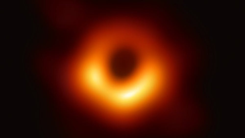 Photo Credit CC BY 3.0 / Event Horizon Telescope  The Event Horizon Telescope captured the image of the black hole.  ggg