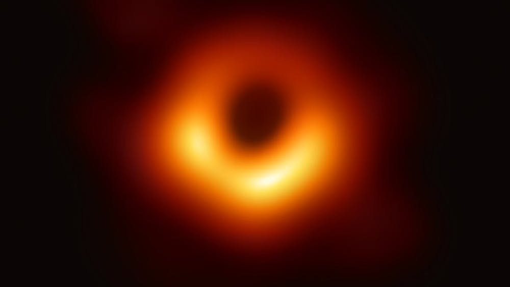 Photo Credit CC BY 3.0 / Event Horizon Telescope The Event Horizon Telescope captured the image of the black hole. ggg