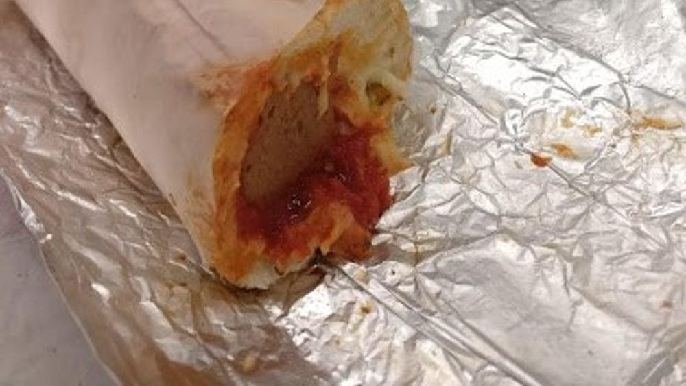 COURTESY OF JESSE WU Wu was unsatisfied with his unadventurous weekend, including his meal at Pizza Boli's.