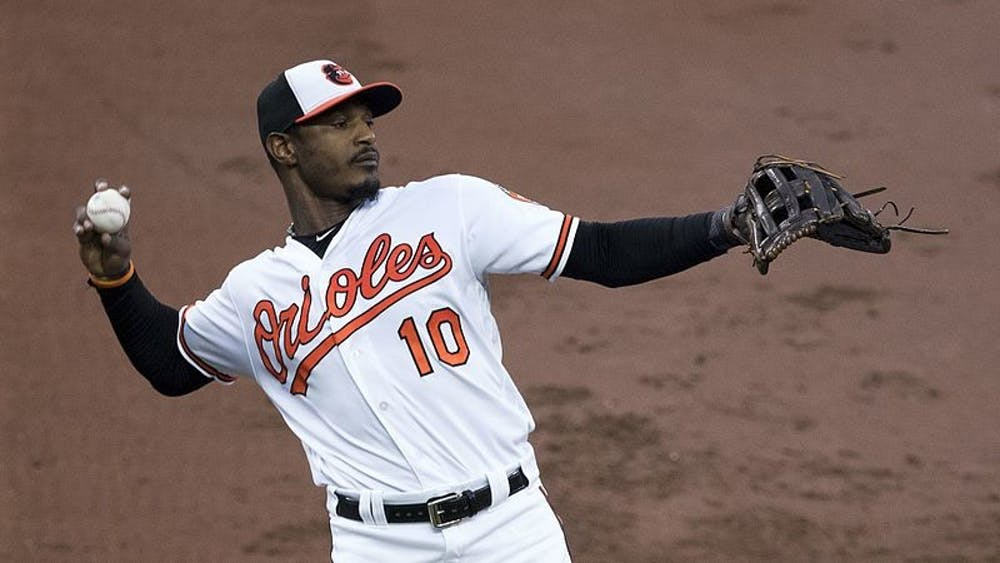 KEITH ALLISON/CC BY-SA 2.0 Adam Jones has likely played his last game as a Baltimore Oriole.