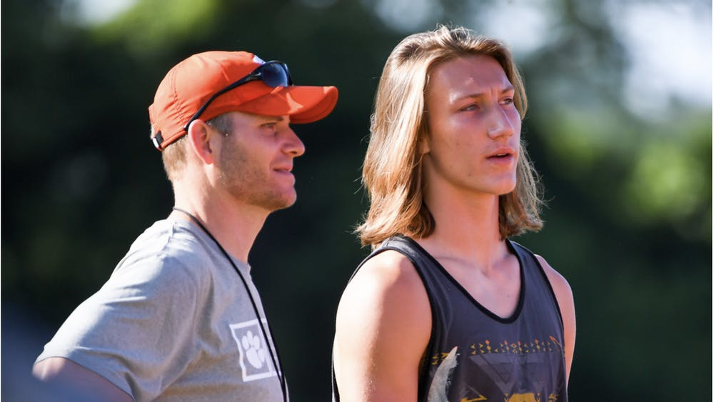 TIGERNET.COM/ CC BY-SA 2.0 Trevor Lawrence has the chance to either stay at Clemson another year or take his chances with one of the worst franchises in football.
