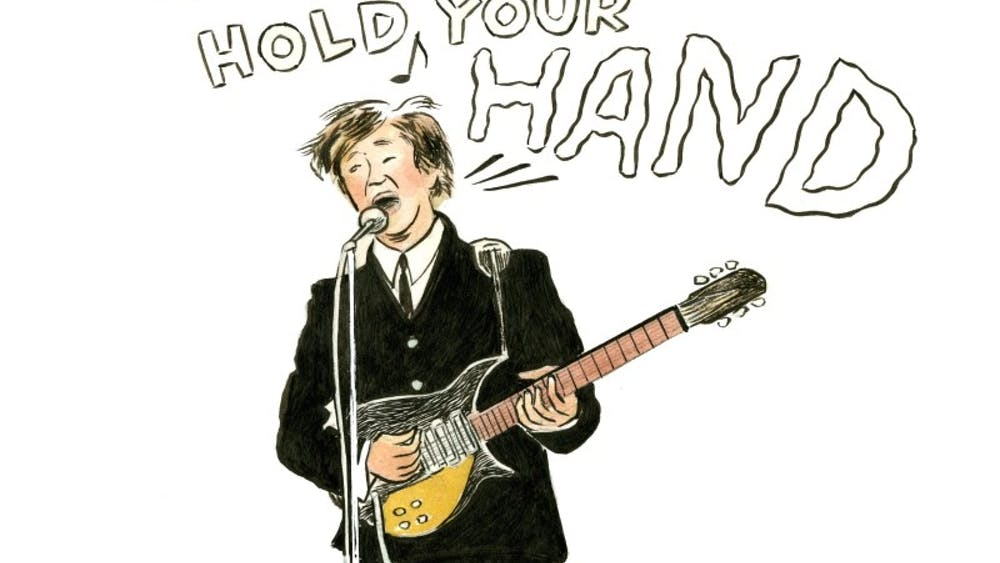 COURTESY OF CRAIG HANKIN Tyler's forthcoming book, Fab 4 Mania, is a narrative of her trip to a Beatles concert in 1965.
