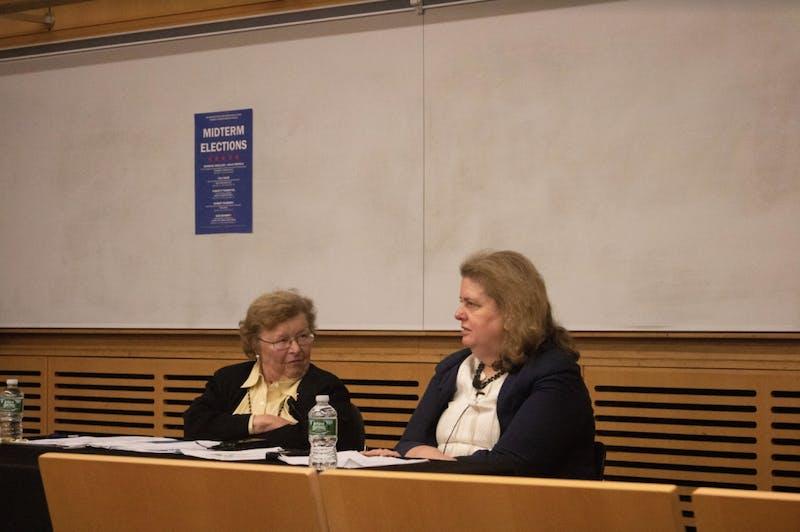 EDA INCEKARA/PHOTOGRAPHY EDITOR Speakers included professor and former Maryland Senator Barbara Mikulski.