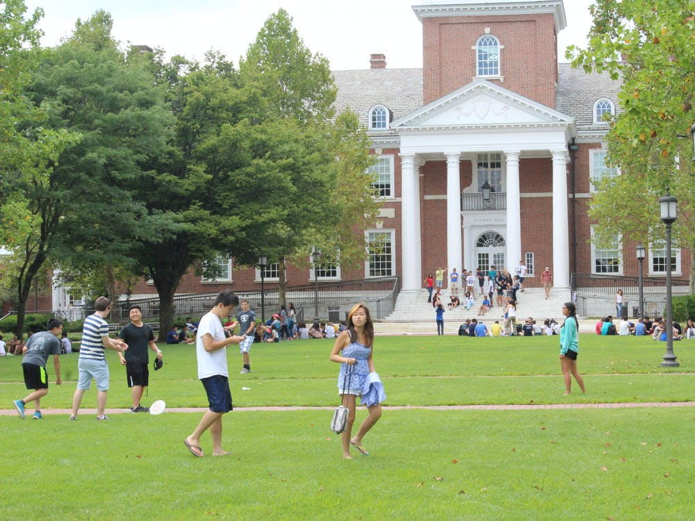 FILE PHOTO Students will be required to be vaccinated to be on campus in the fall.