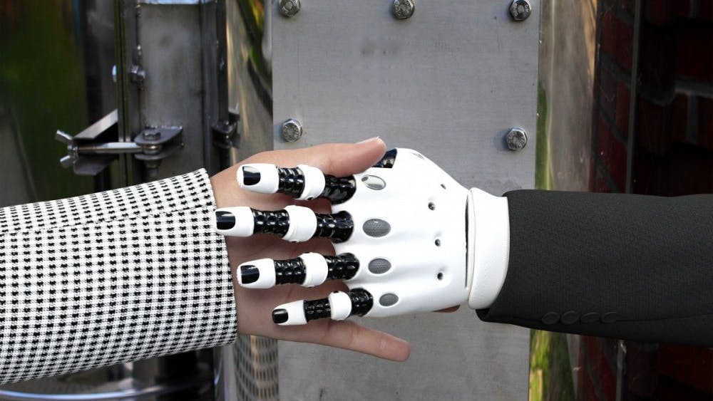 PUBLIC DOMAIN Participants with motor deficiencies the chance to control a robot as if it was their own limb.