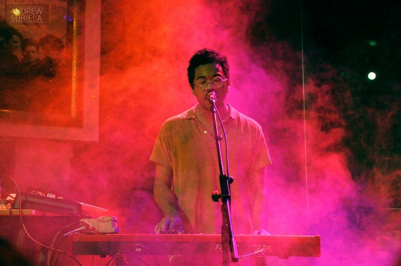 Andrew Subiela/CC By 2.0 Toro y Moi combines the genres of pop and electronic with his conceptual EP.