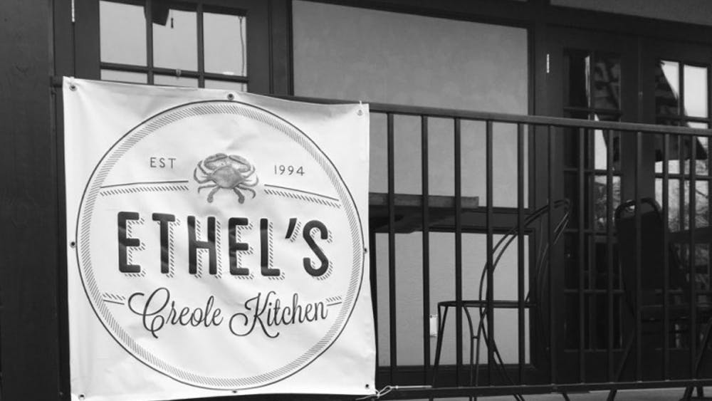 Ethel's charming set up provides the perfect place to enjoy an outdoor lunch.