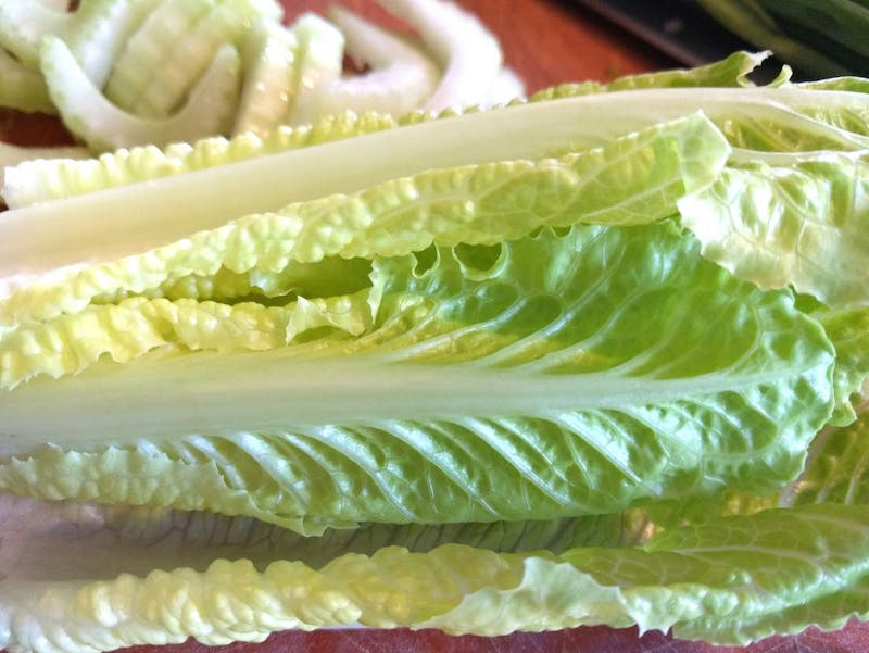 PUBLIC DOMAIN Researchers urge the public not to eat or purchase any romaine lettuce until the source of the outbreak can be found.