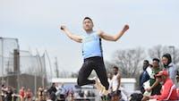 HOPKINSSPORTS.COM Sophomore Matthew Su was named Centennial Field Athlete of the Week.