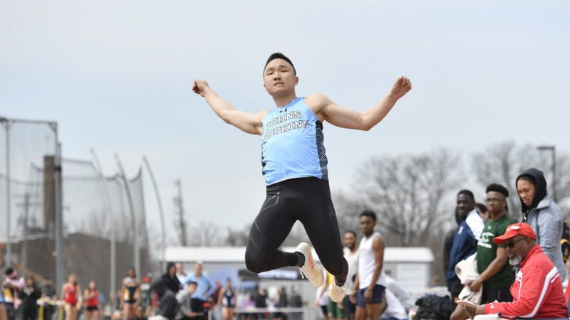 HOPKINSSPORTS.COM Sophomore Matthew Su was named Centennial Field Athlete of the Week.