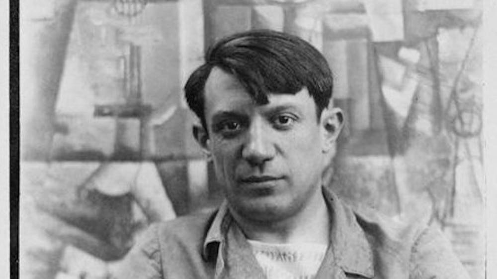 PUBLIC DOMAIN Picasso is just one famous artist known to have mistreated women.