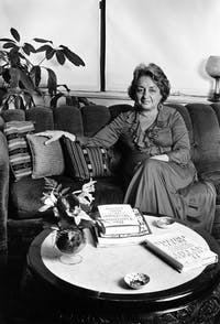 COURTESY OF LYNN GILBERT/CC BY-SA 4.0   Betty Friedan's The Feminine Mystique catalyzed second wave feminism.