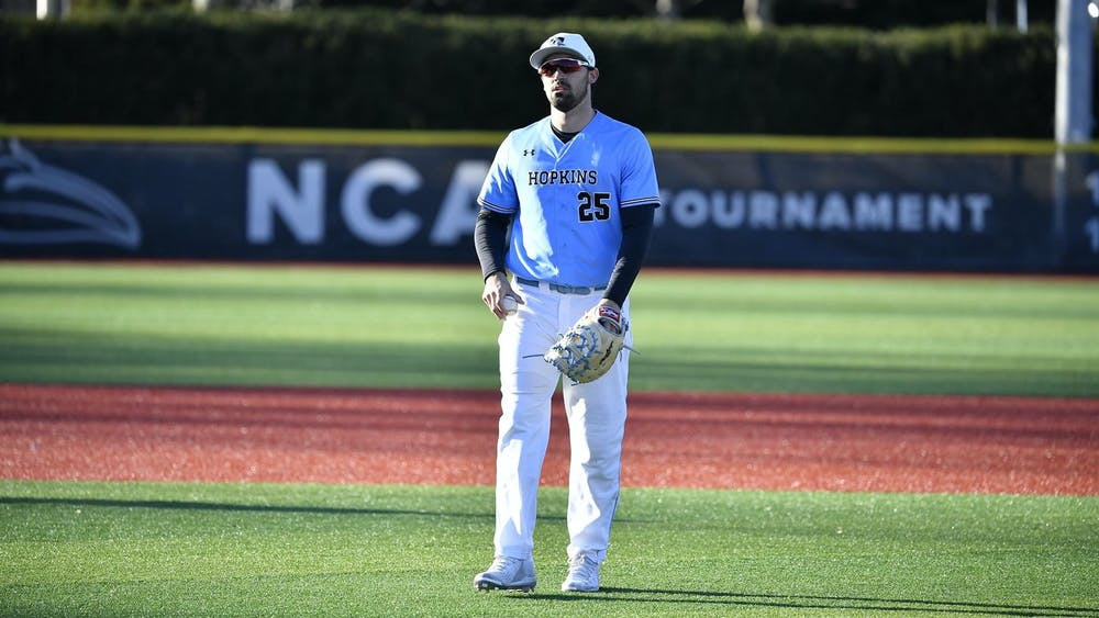 COURTESY OF HOPKINSSPORTS.COM The Jays began their season by losing both games of a doubleheader against Franklin and Marshall.