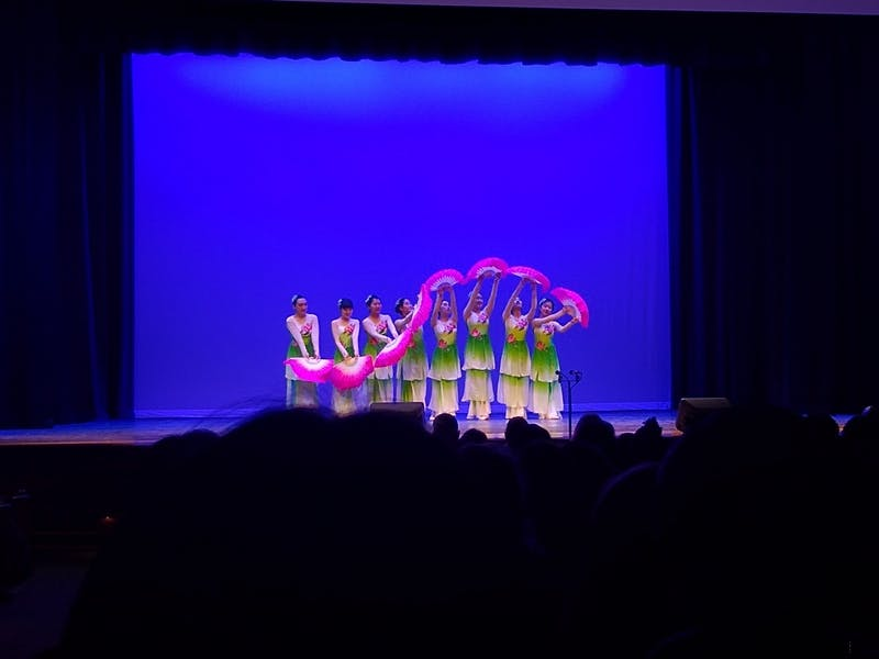 COURTESY OF COLE DOUGLASS Students from many diverse communities performed at the Culture Show.