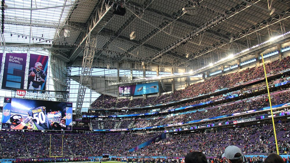 Quintin3265 / CC BY-SA 4.0 Despite a turbulent season, this year's Super Bowl will take place in Tampa Bay, Fla. on Feb. 7.