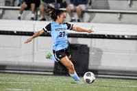 COURTESY OF HOPKINSSPORTS.COM  Senior forward Kristen Hori was honored, along with her other classmates, for her contributions on and off the field.