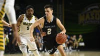 HOPKINSSPORTS.COM Sophomore guard Joey Kern led the Jays to their first Conference win.