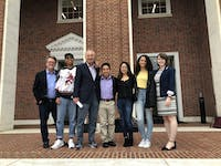 COURTESY OF RUDY MALCOM The Student Government Association invited Peter Franchot to campus