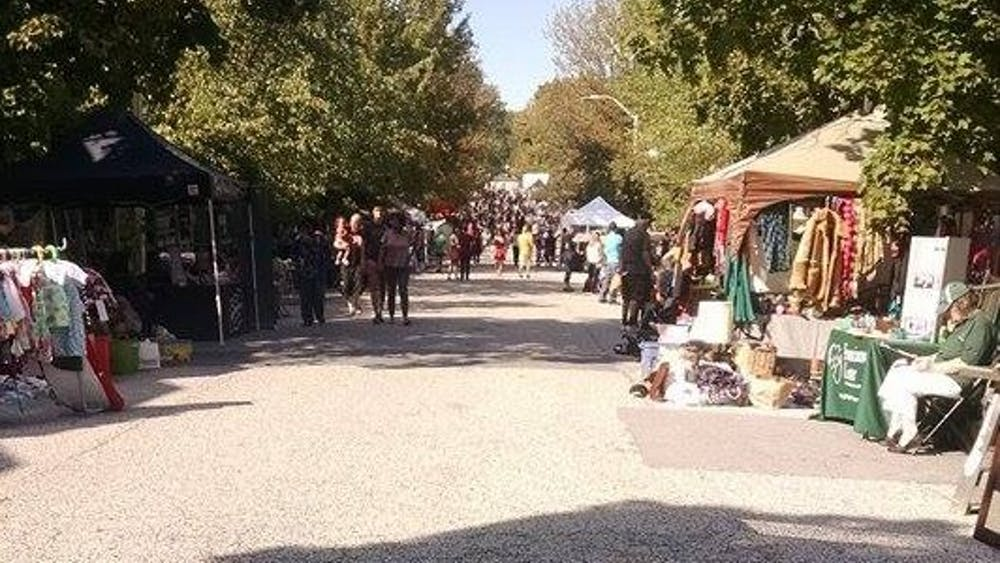 COURTESY OF VERONICA REARDON The Abell Street Fair is held every September to support the AIA.