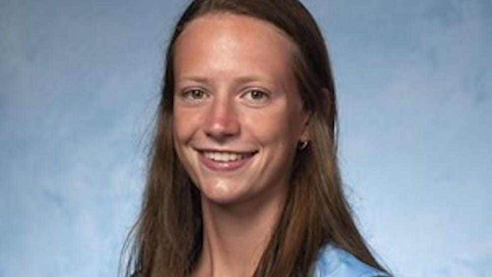 COURTESY OF HOPKINSSPORTS.COM Freshman midfielder Katie Sullivan is this week's Athlete of the Week.