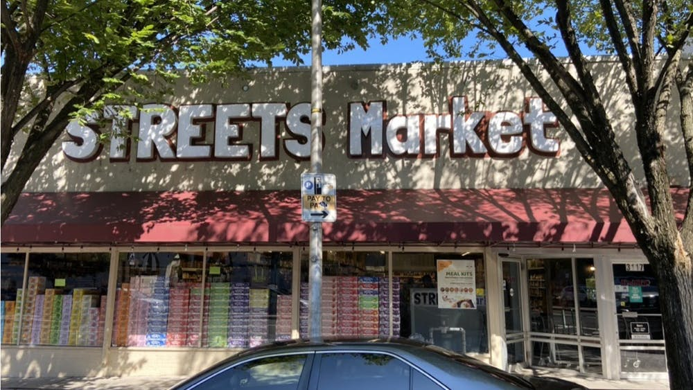 COURTESY OF JAKE LEFKOVITZ Streets Market is open seven days a week from 8 a.m. to 10 p.m.