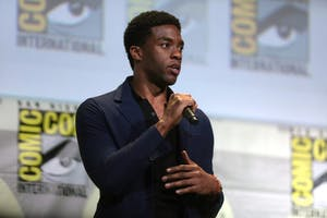GAGE SKIDMORE/CC BY-SA 2.0 Chadwick Boseman starred in the most recent Marvel film, Black Panther.