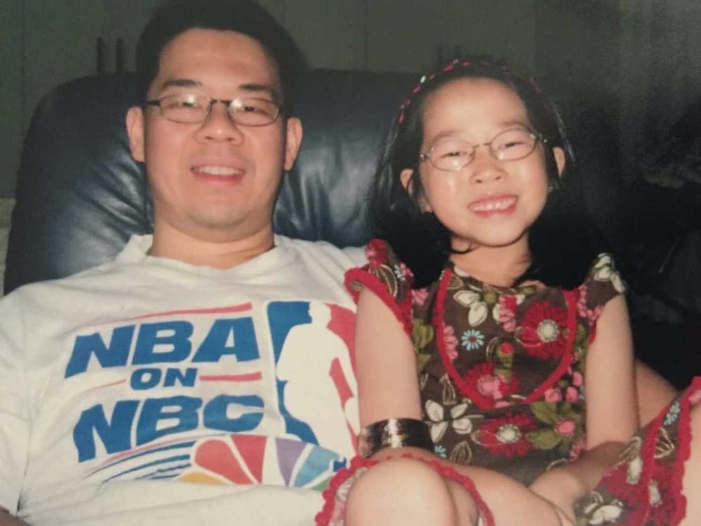 COURTESY OF MICHELLE LIMPE After having laser eye surgery, Limpe considers how glasses shaped her identity throughout childhood.