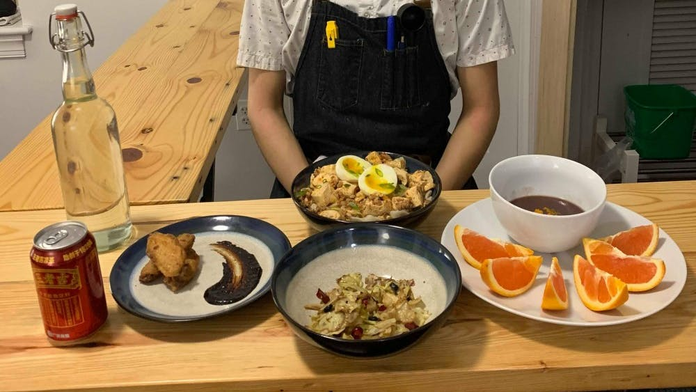COURTESY OF JESSE WU  Wu was forced to shut down his food pop-up Jade after opening it in his dorm room.