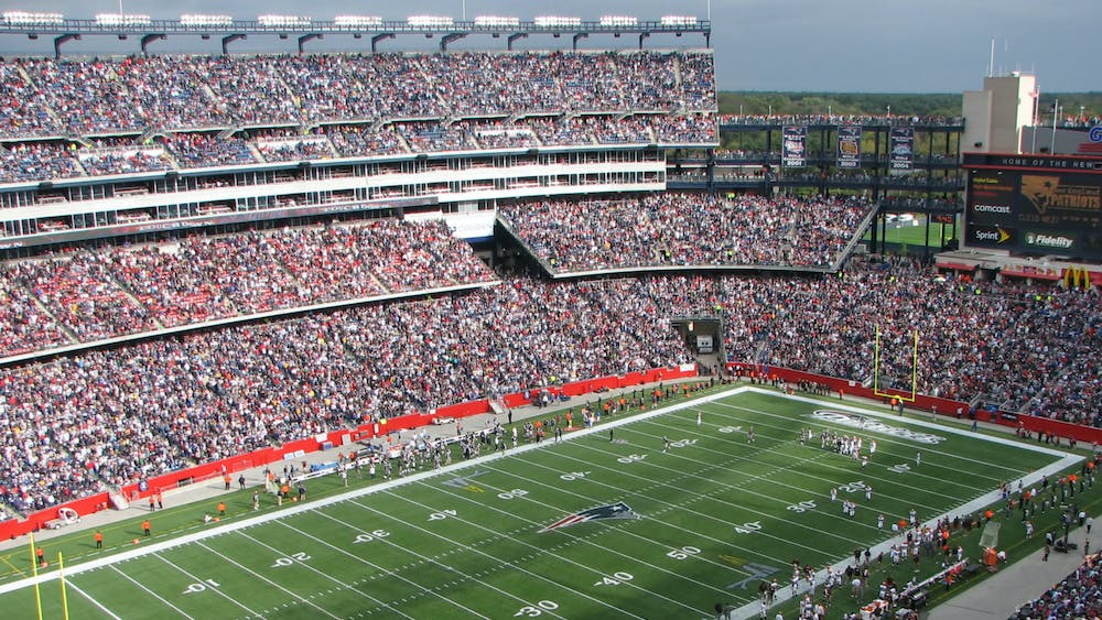 BERNARD GAGNON/CC BY-SA 3.0 Goodman attended and covered the Lacrosse final four and national championship games at Gillette Stadium in 2008.