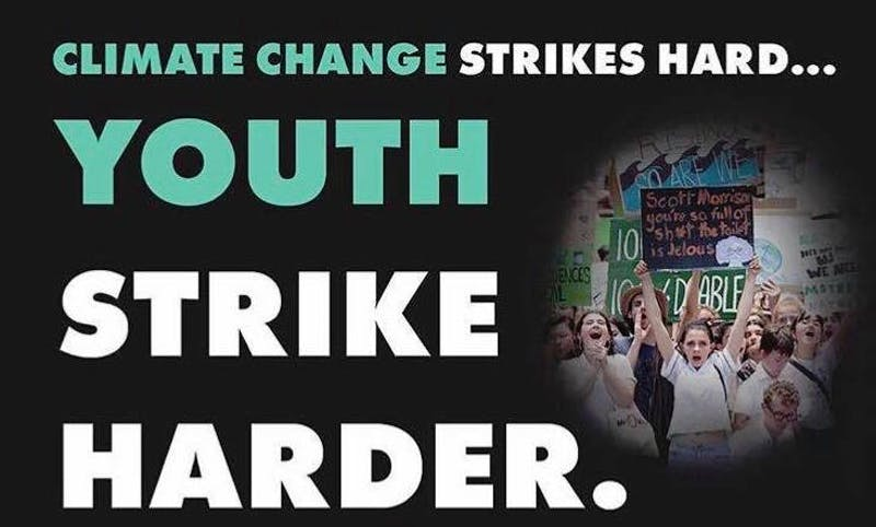 Courtesy of Sabrina Abrams  The Youth Climate Strike advocates for policy surrounding climate change.