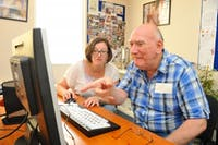 Norwood charity/ CC BY-SA 3.0  Dementia, a debilitating disease, may be diagnosable by a computer.