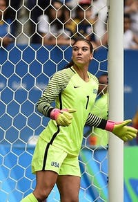 Agência Brasília/CC BY 2.0 Hope Solo hoped to change the pay-for-play scheme as U.S. Soccer President.