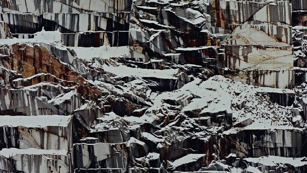 EDWARD BURTYNSKY/CC BY 2.0 Burtynsky's photographs highlight the effect of industry on nature, one of the themes of the show.