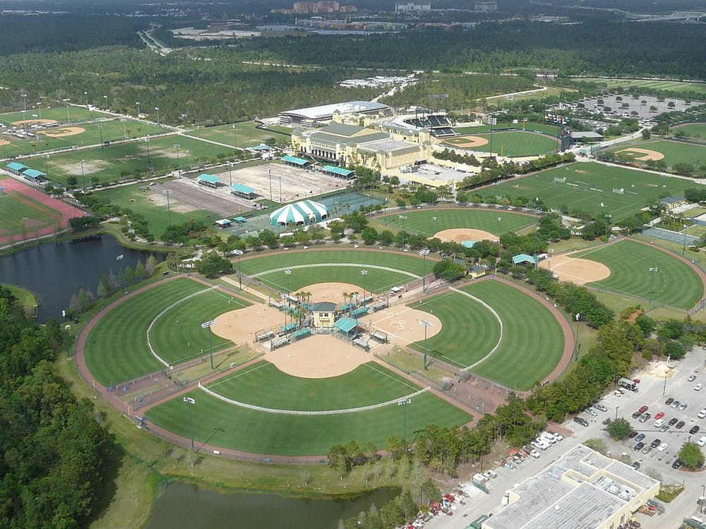 GREG GOEBEL / CC BY SA 2.0 The basketball facilities in Disney World likely will not be reused for the upcoming season.