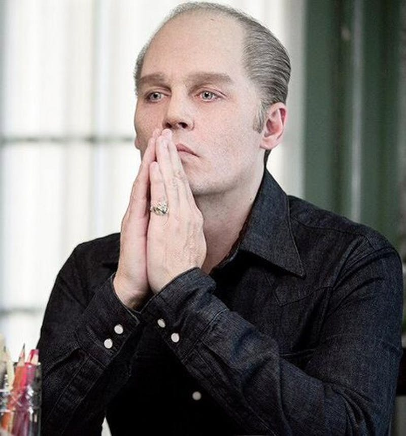 """COURTESY OF IM-A-DEPP VIA FANPOP.COM Johnny Depp transforms into gangster """"Whitey"""" Bulger in Black Mass."""