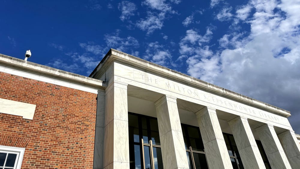 COURTESY OF LEELA GEBO The University is planning to redesign The Milton S. Eisenhower Library for the first time since it opened 56 years ago.
