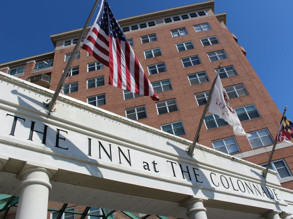 FILE PHOTO There are 125 rooms, of the 343 spaces available for quarantine and isolation housing, at the Inn at the Colonnade.