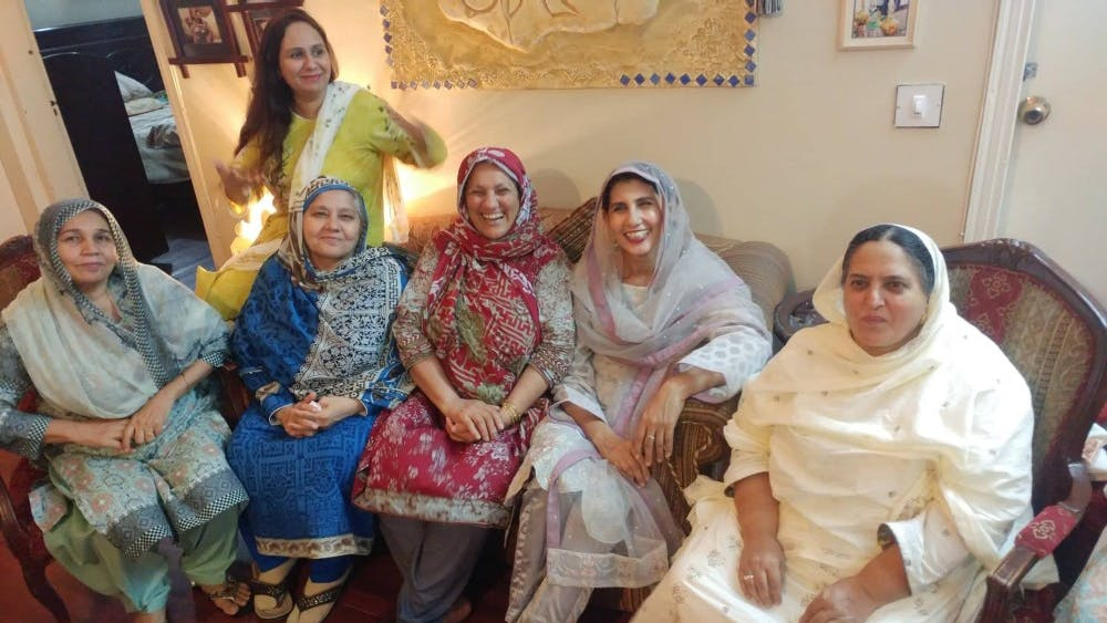 COURTESY OF ZUBIA HASAN A Pathan family gathering, which Zubia wishes she had experienced more.