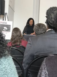 Author Saidiya Hartman explored the idea of an end to white supremacy